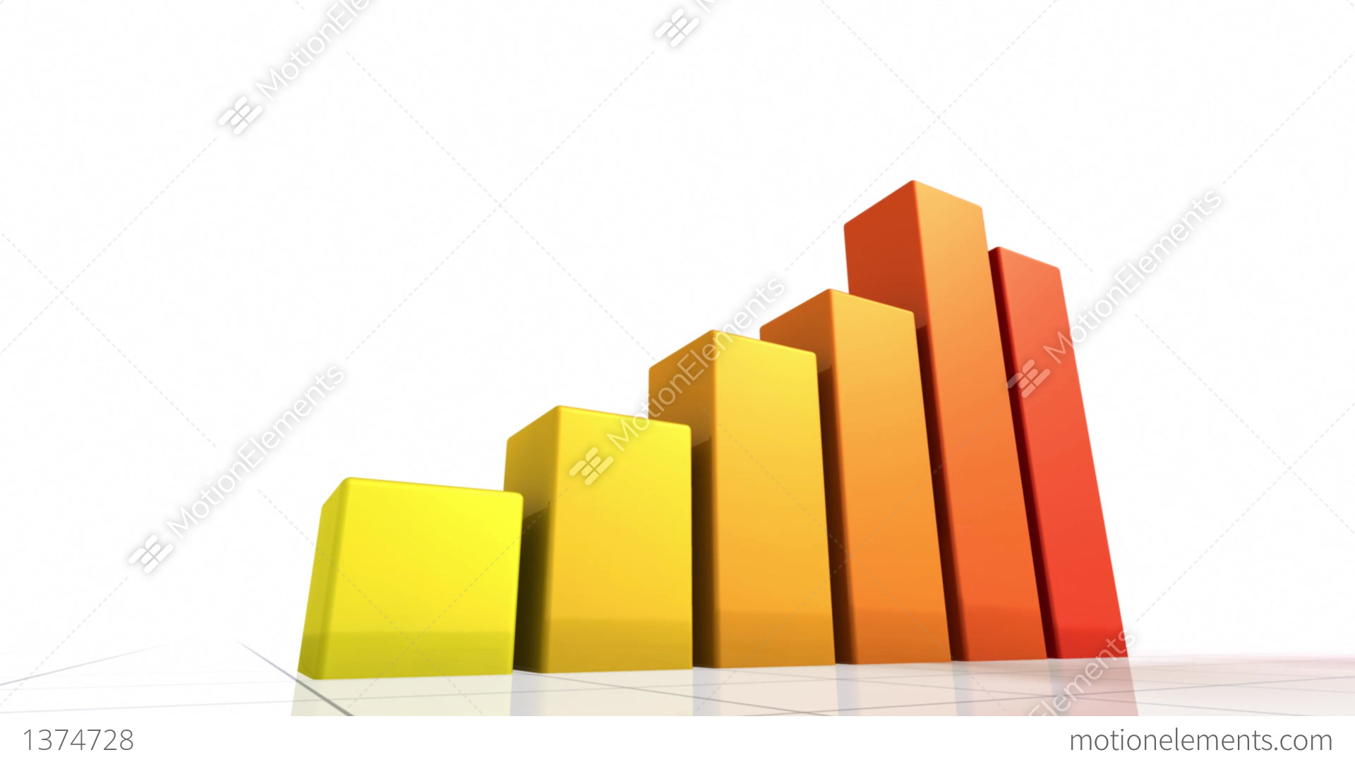 Animated bar graph stock animation 1374728 animated bar graph stock video footage ccuart Images