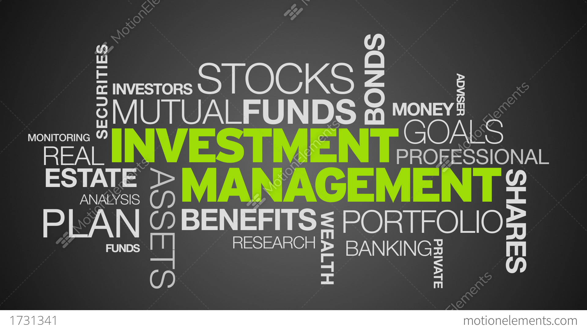investment management word cloud animation stock animation clip art earth day free clip art earth mover