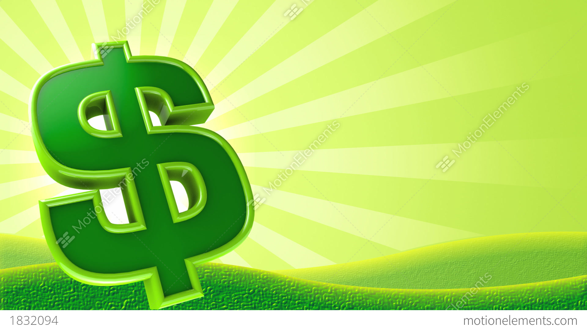 Money sign background