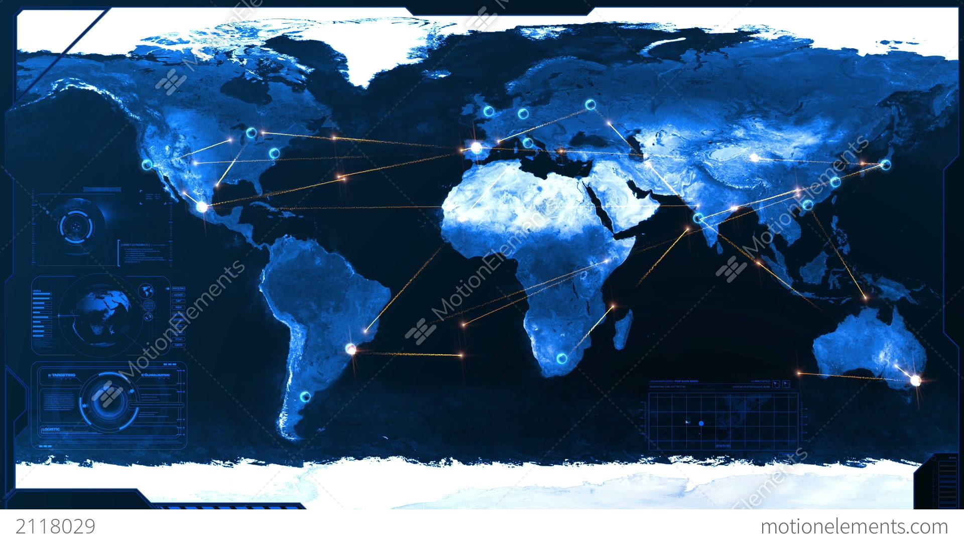 Logistics HD Stock Animation