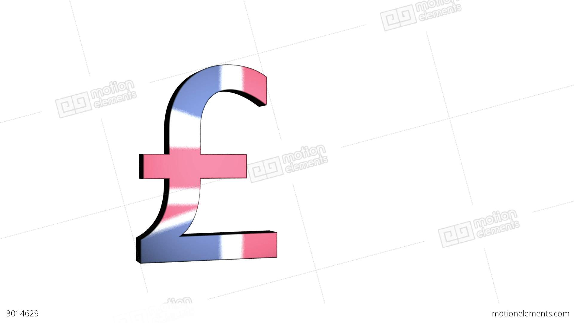 English pound sterling flag reflection stock animation 3014629 english pound sterling flag reflection stock video footage biocorpaavc Gallery