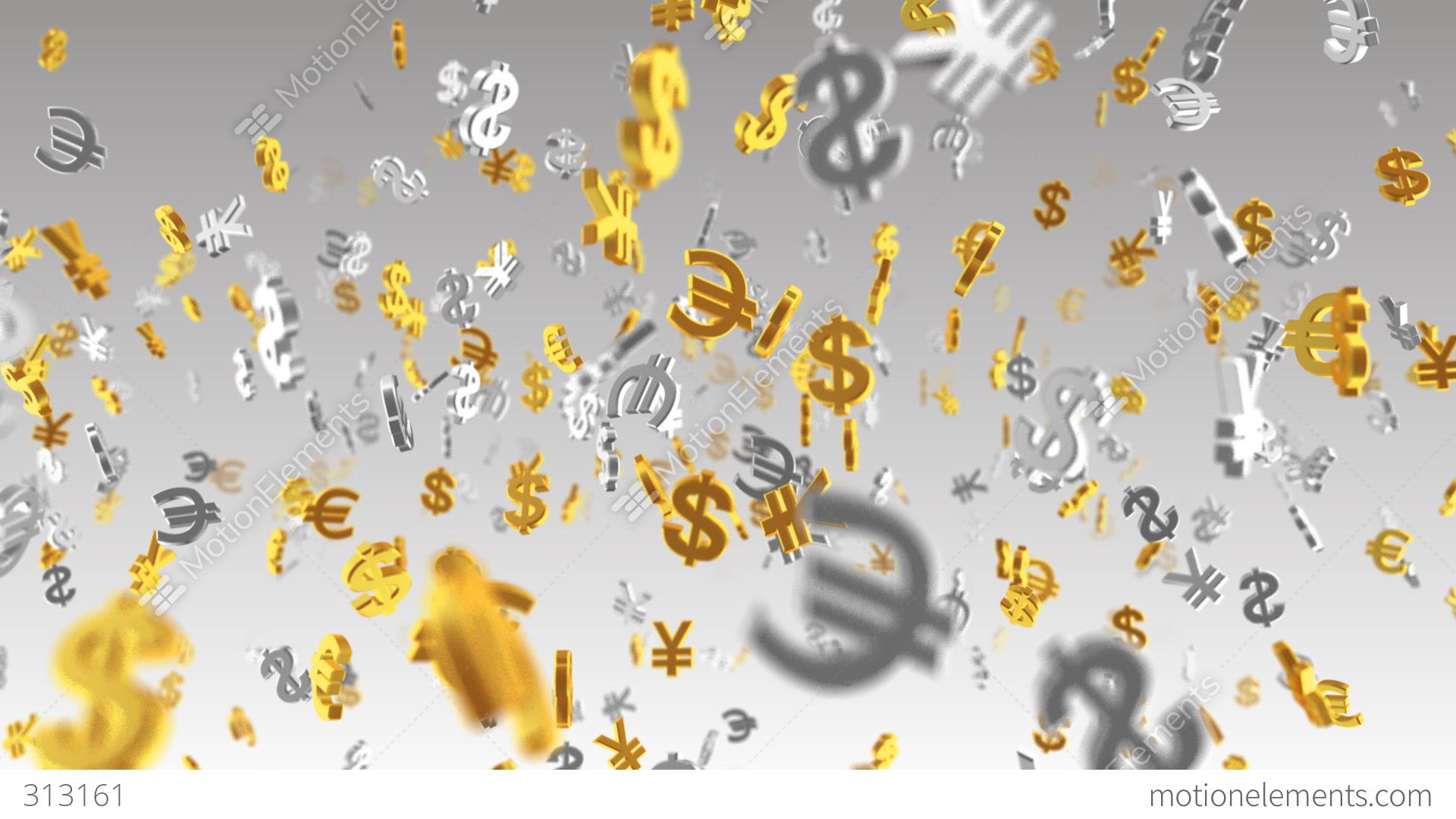 Money symbol 2a dollar euro yen w stock animation 313161 money symbol 2a dollar euro yen w stock video footage buycottarizona Gallery