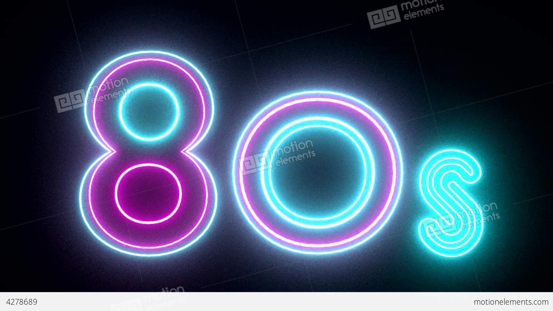80s neon sign lights logo text glowing multicolor stock animation 4278689 Plant Science Clip Art Science Lab Clip Art
