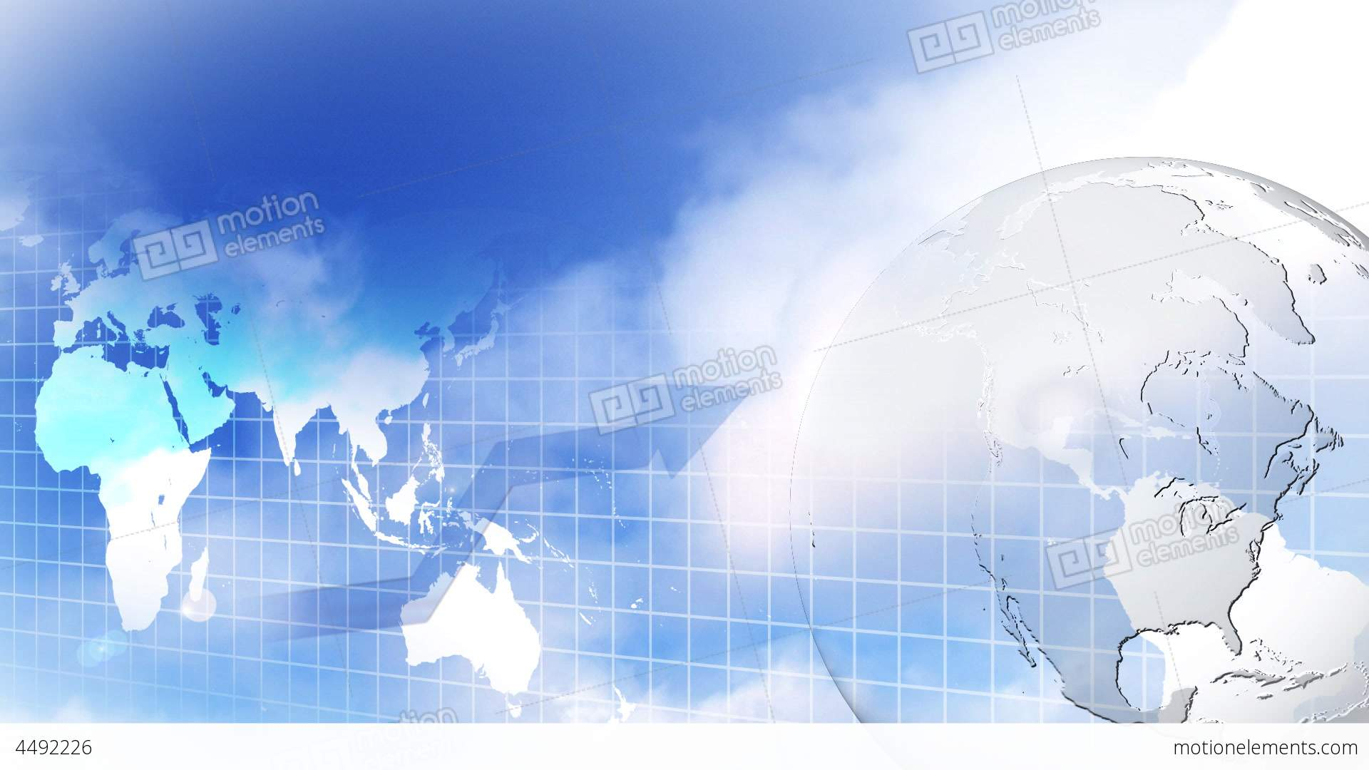 HD Motion Business Background 5 Stock Animation | 4492226