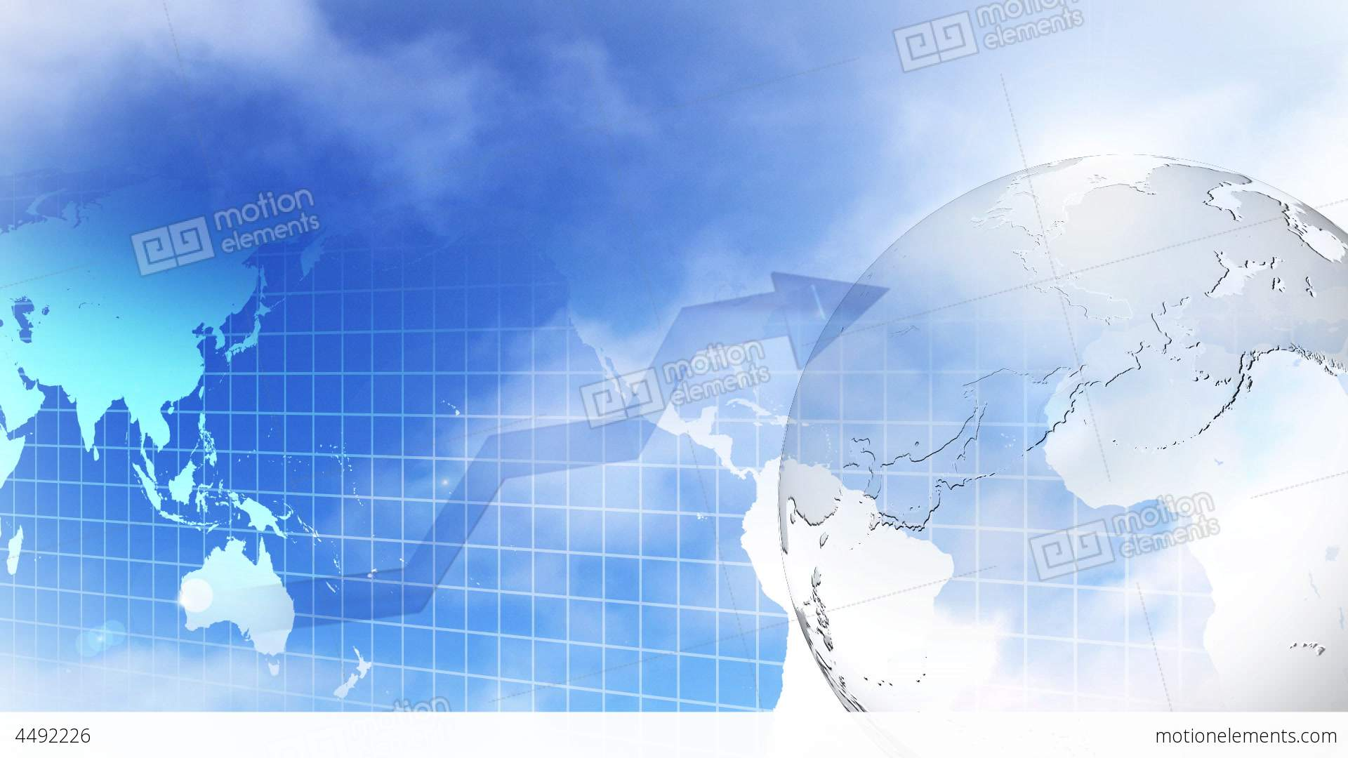 HD Motion Business Background 5 Stock Animation