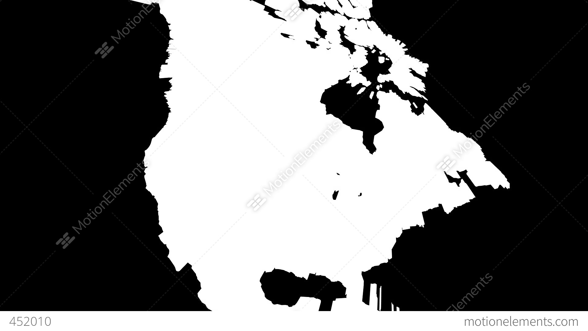 D Map Of USA With State Flags Stock Animation RoyaltyFree - 3d map usa states
