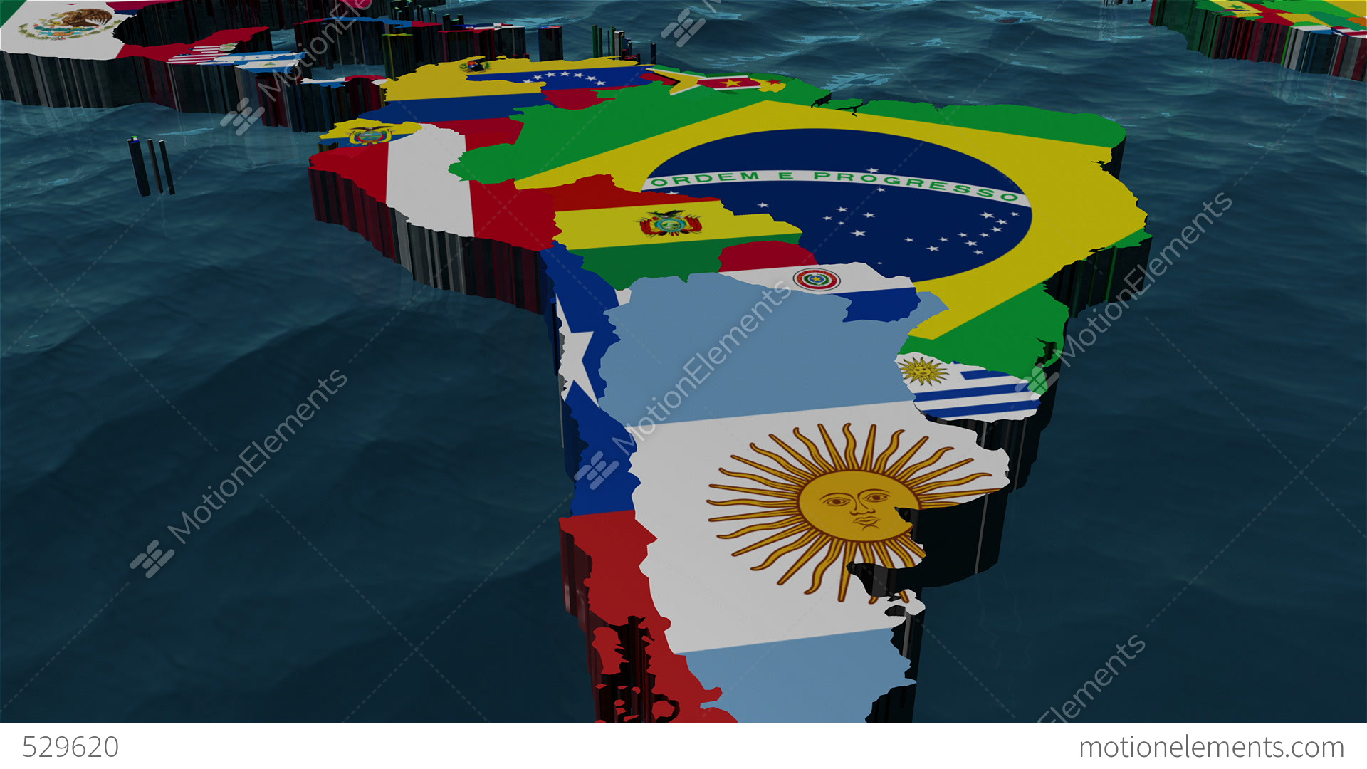 3d world map zoom to south america stock animation 529620 3d world map zoom to south america stock video footage gumiabroncs Images
