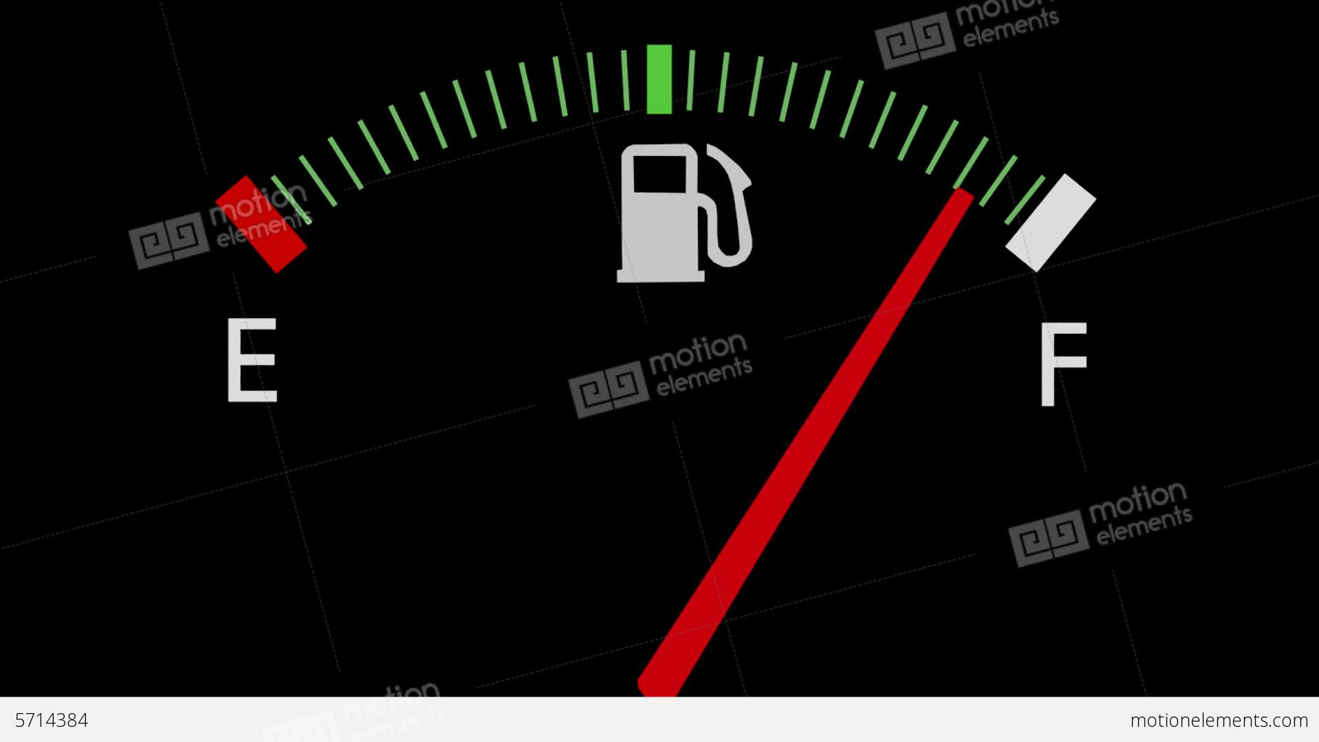 Worksheet Full Empty fuel gauge full empty car dashboard meter stock animation video footage