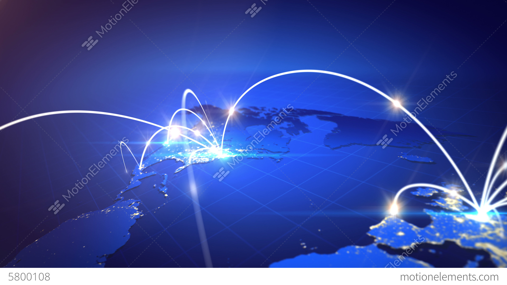 World map with global technology or social connect stock animation world map with global technology or social connect stock video footage gumiabroncs Choice Image