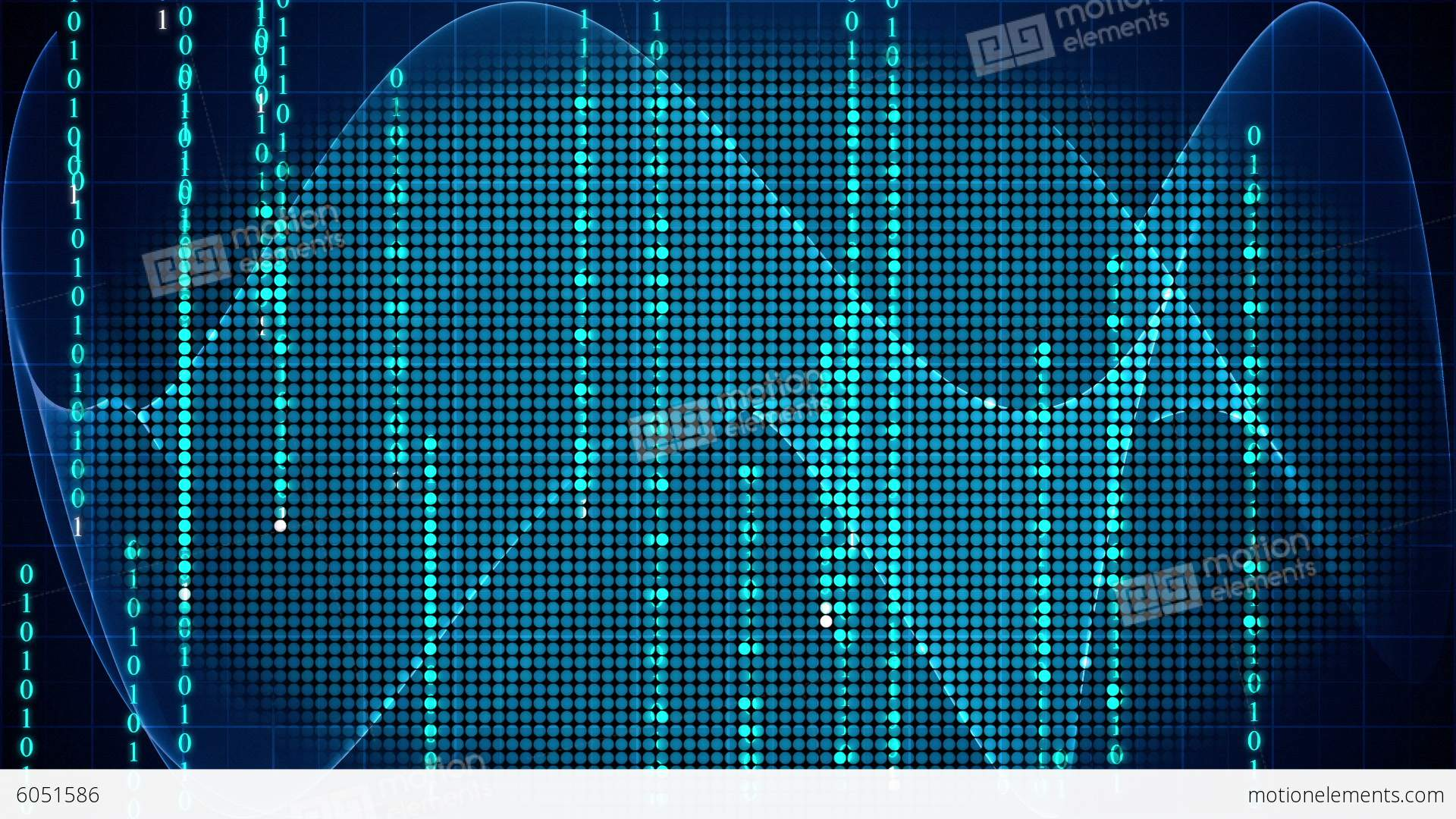 Digital Technology Motion Graphic Background Stock ...