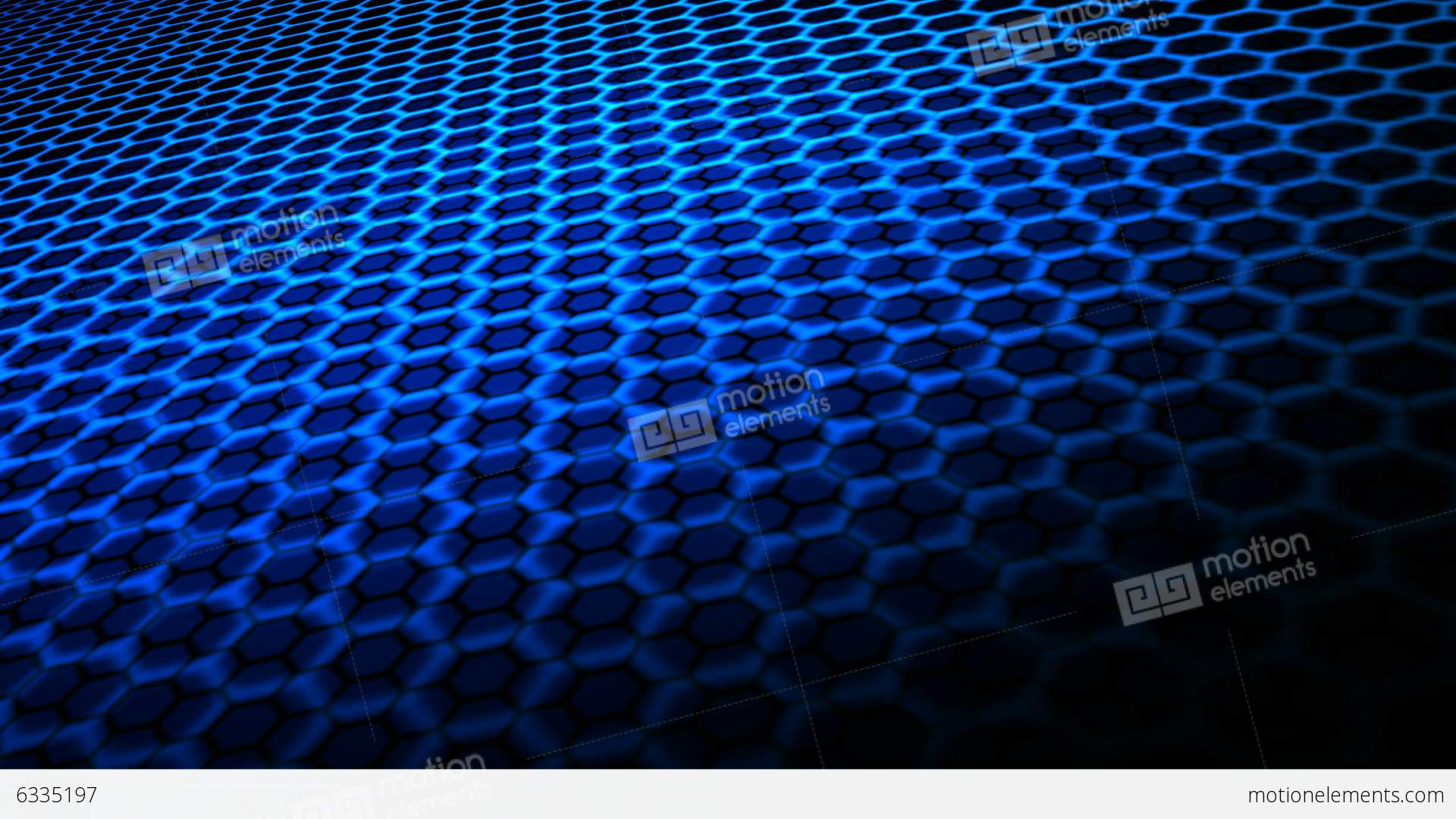3D Hex Grid Shader Test