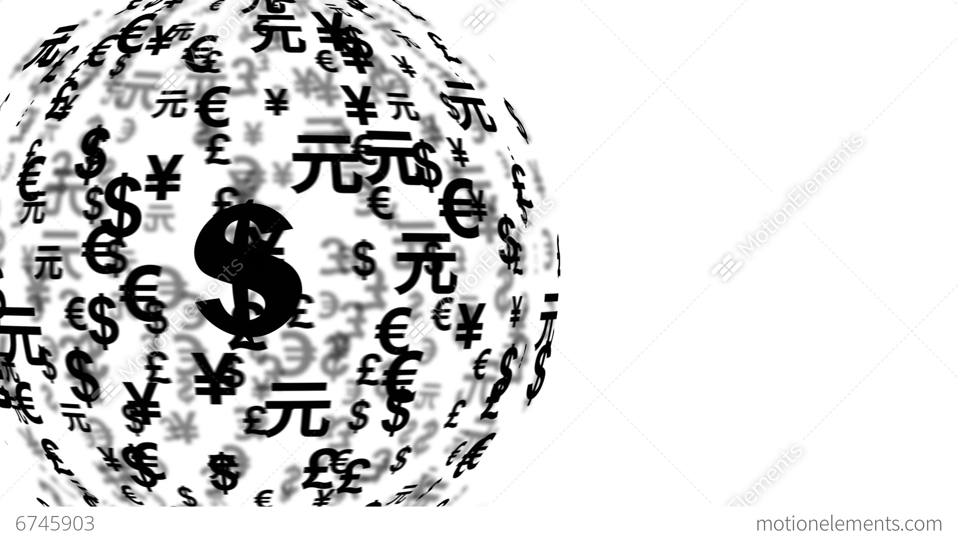 4k uhd currency symbols globe rotating 11600 stock animation 6745903 4k uhd currency symbols globe rotating 11600 stock video footage biocorpaavc Image collections