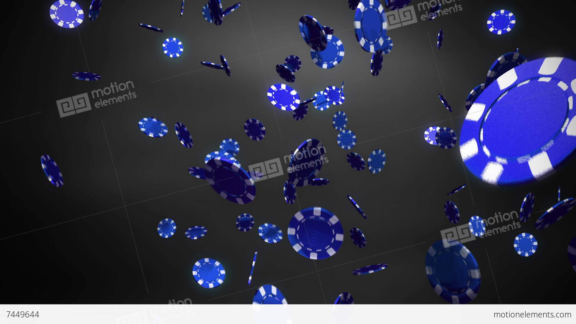 casino blue