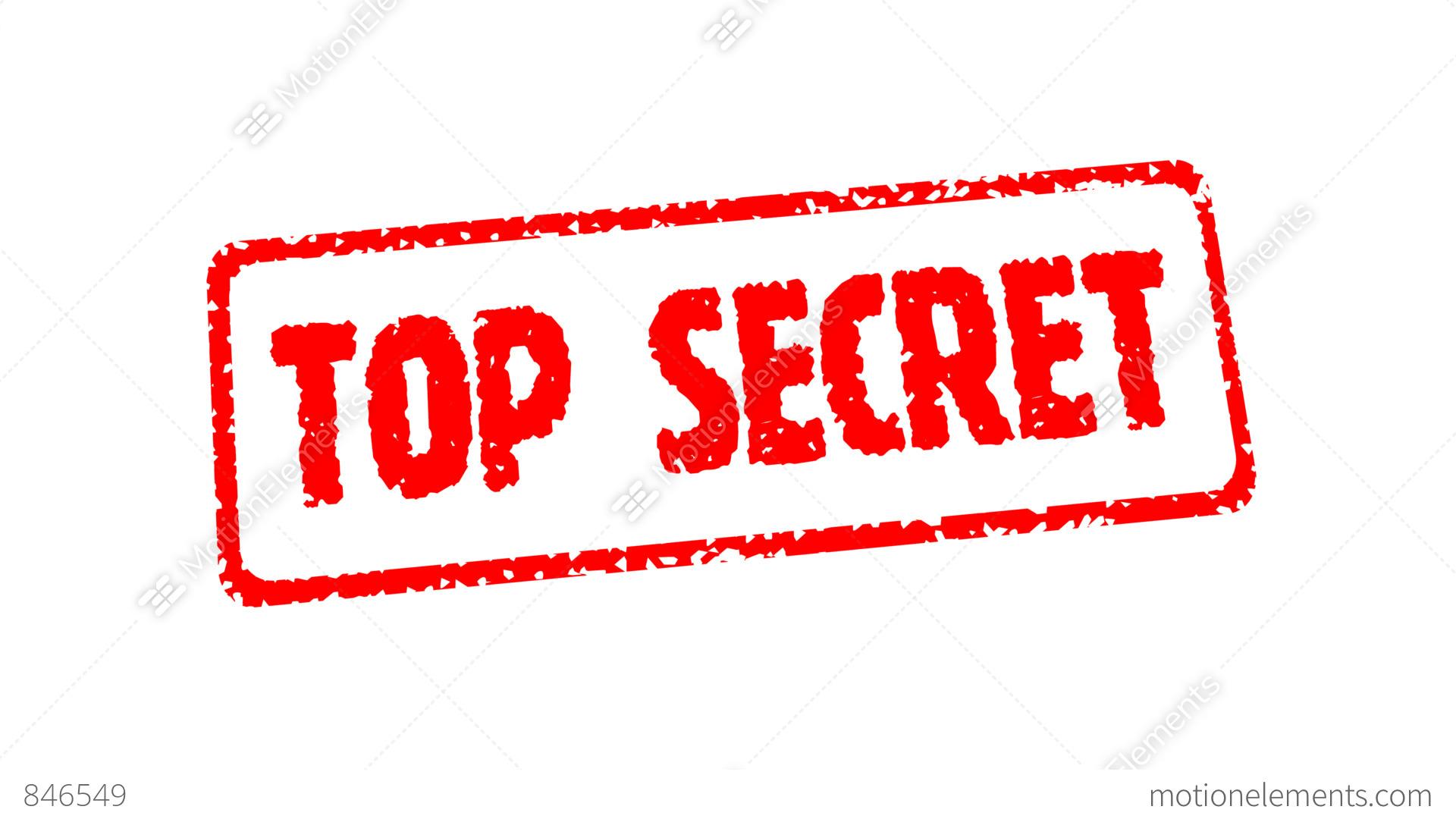 stamp top secret  hd alpha  stock animation 846549 Fun Motion Clip Fun Motion Clip