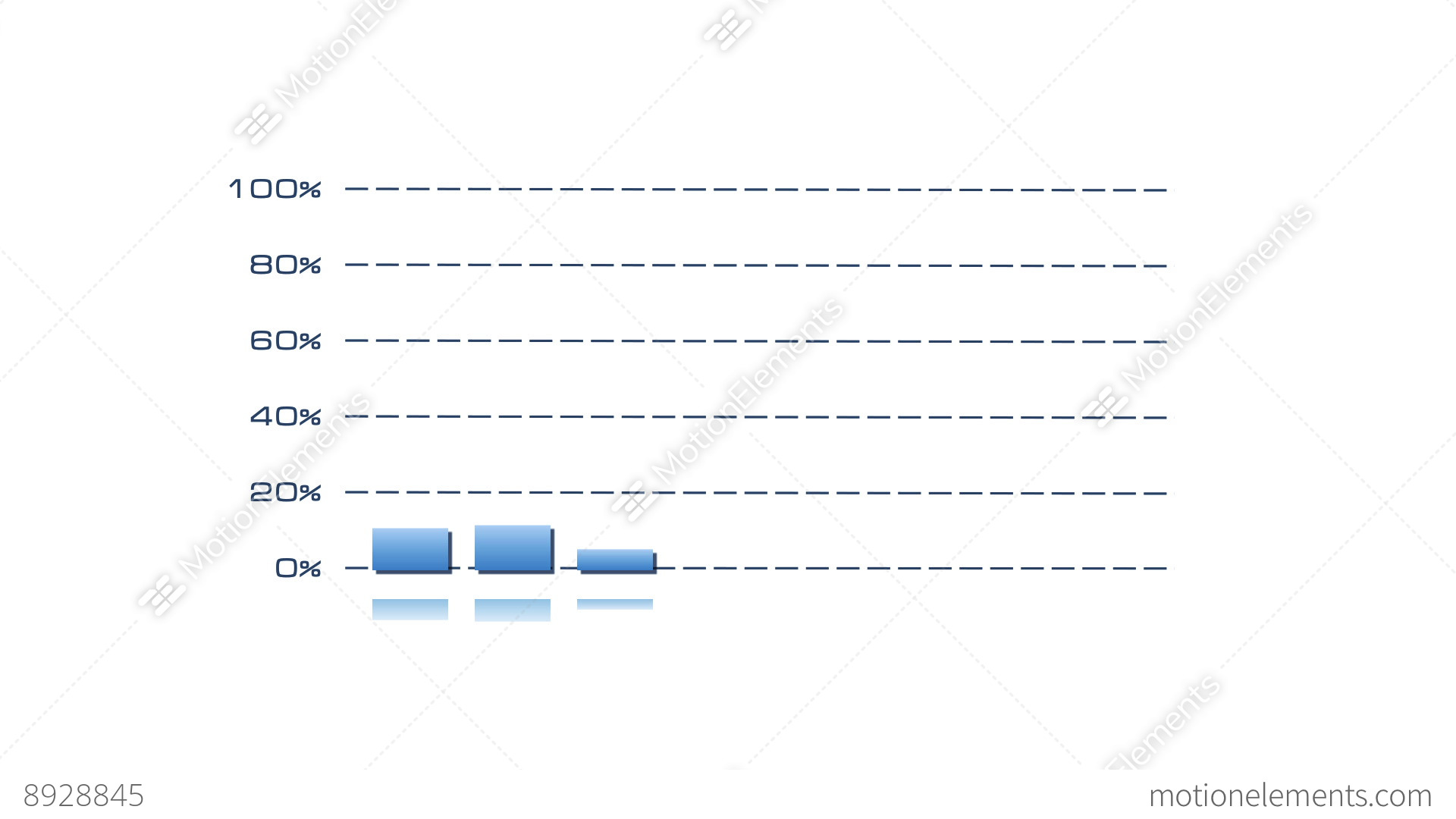 Stock bar graph blue on white stock animation 8928845 stock bar graph blue on white stock video footage ccuart Images