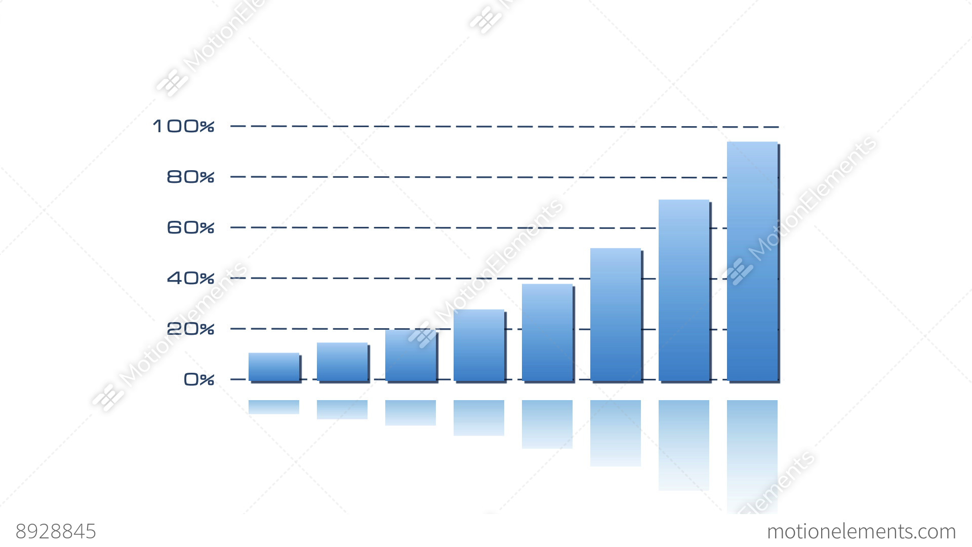 Stock Bar Graph   Blue On White Stock Video Footage  Free Bar Graph Templates