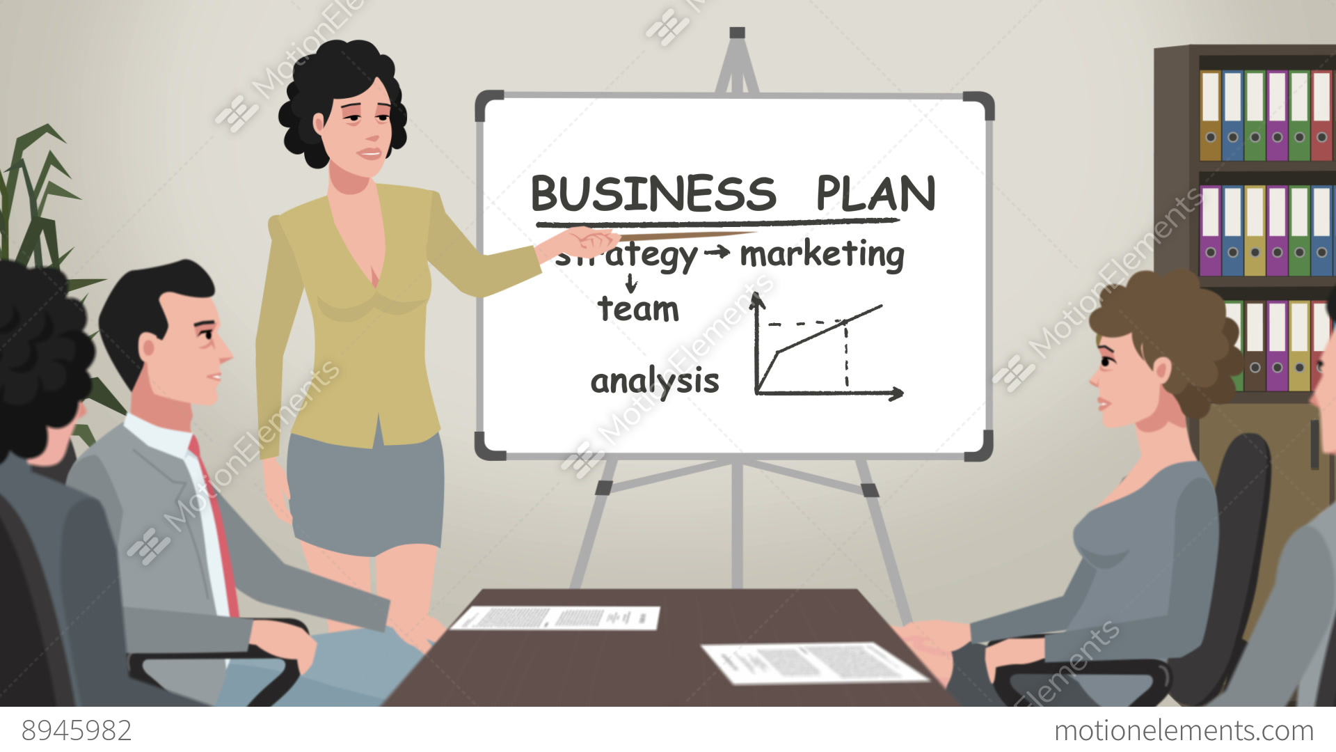 Animated Business Clipart For PowerPoint
