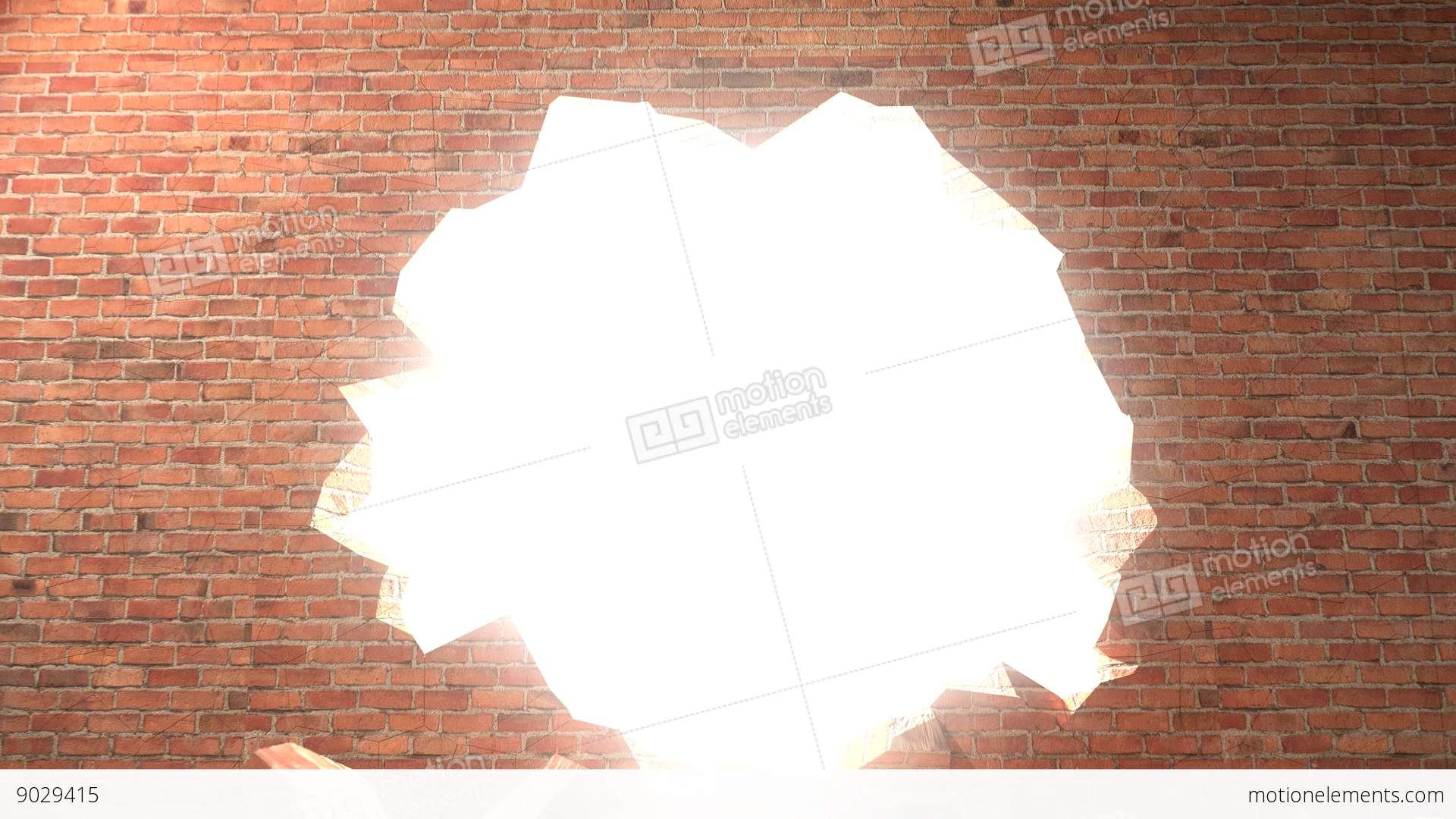 how to break through a wall