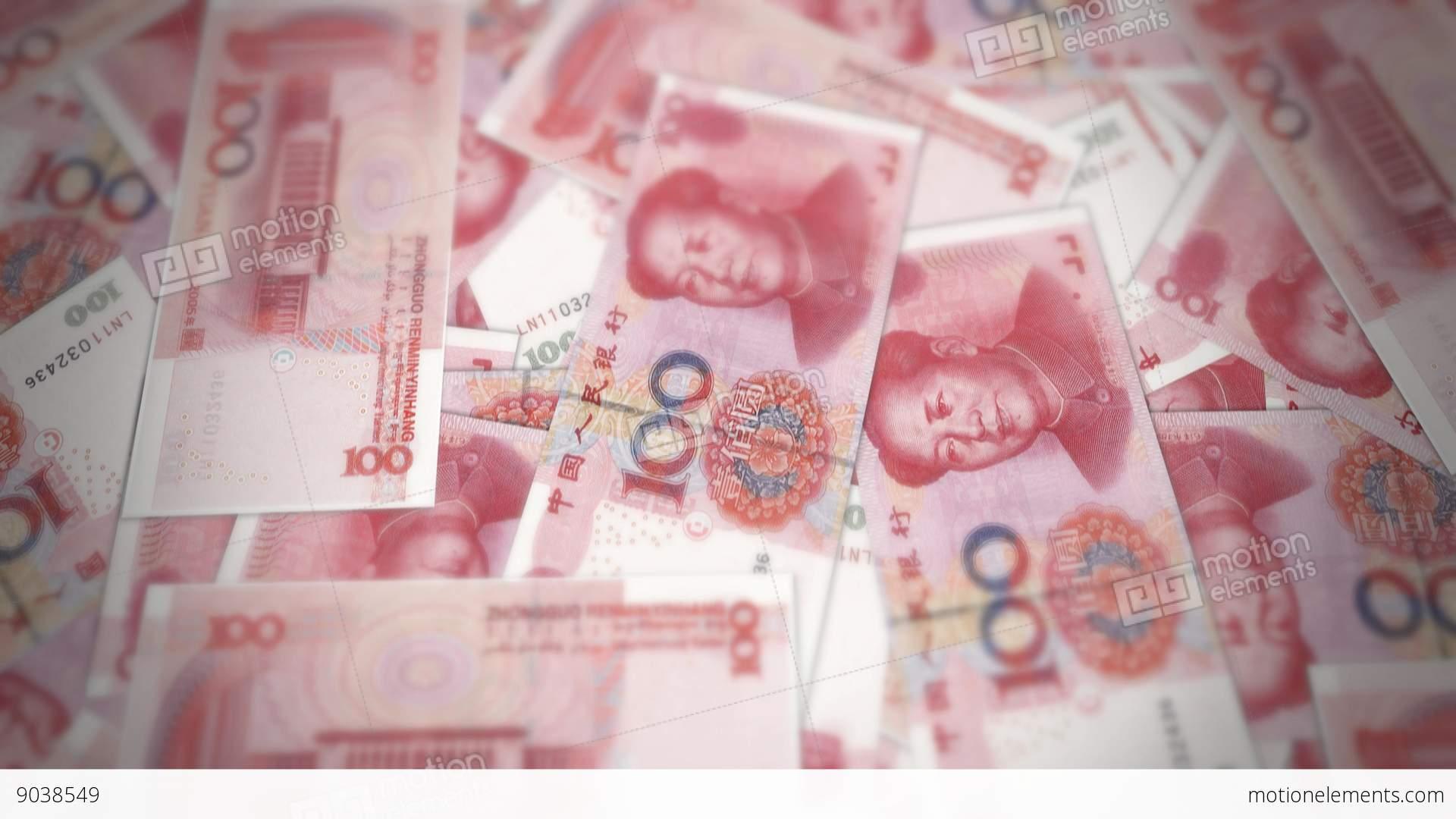 Bank renminbi rmb yuan chinese money banknote international bank renminbi rmb yuan chinese money banknote stock video footage biocorpaavc Gallery