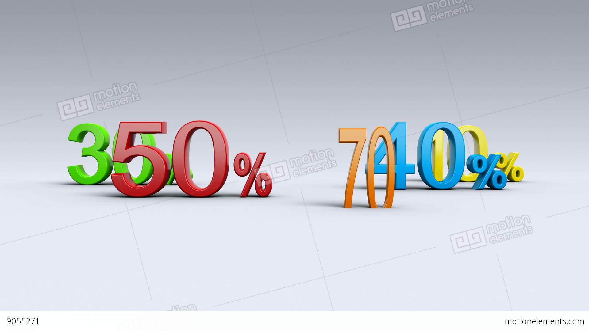 how to add percentages to money