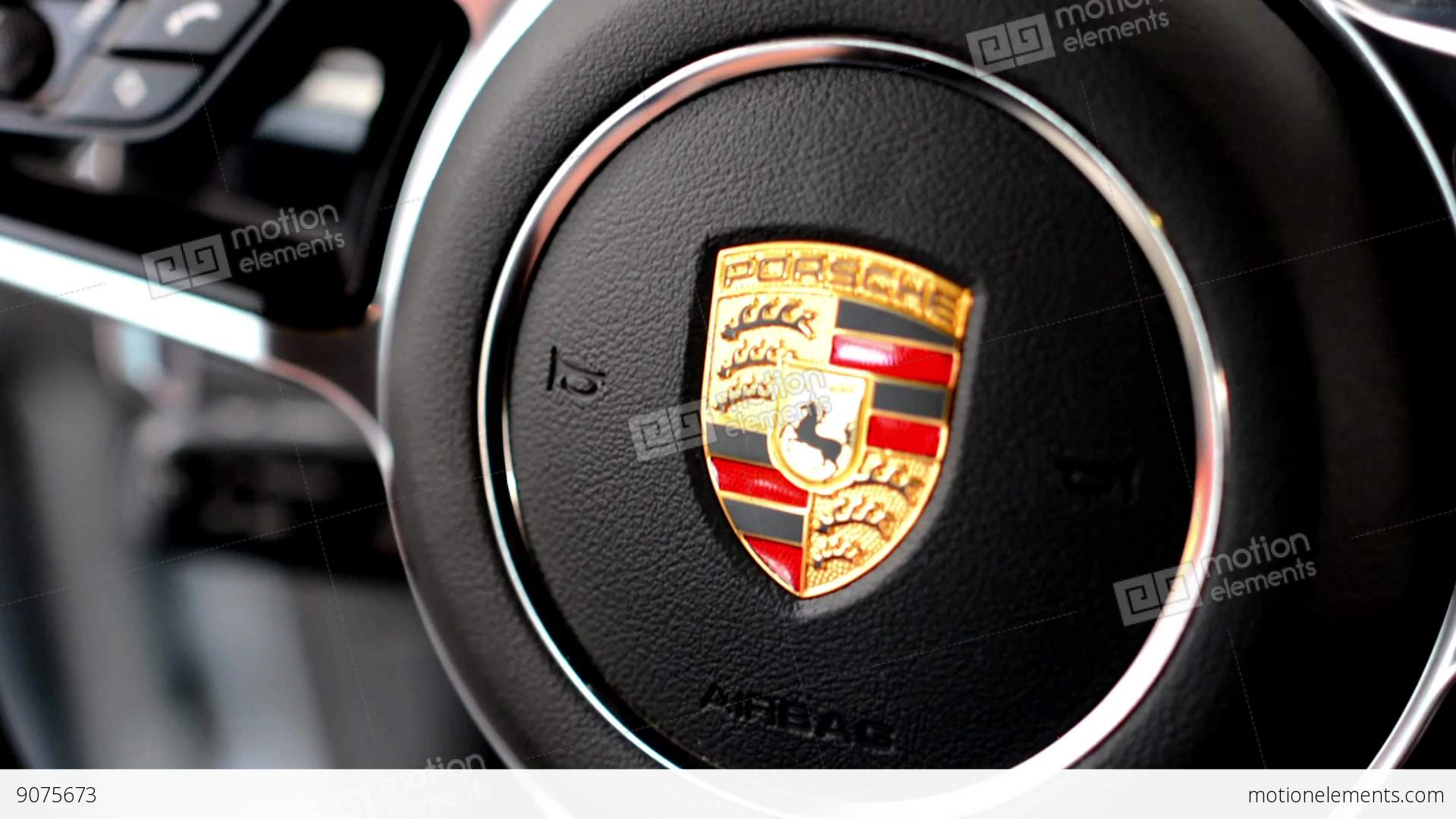 detail of logo wheel porsche interior suv macan