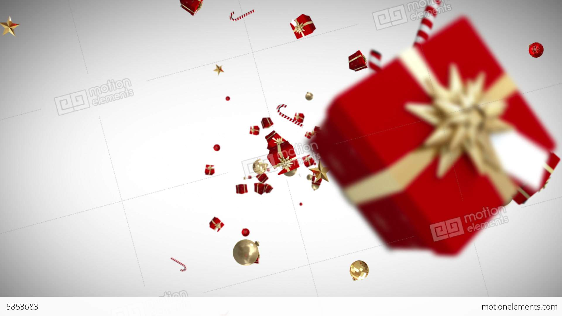 Christmas gifts moving on white background stock animation 5853683 christmas gifts moving on white background stock video footage negle Images