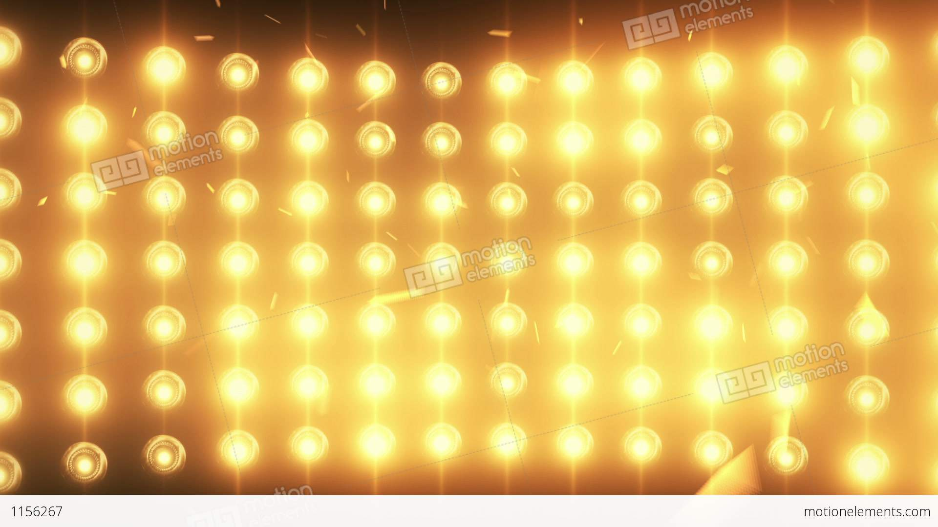 bright flood lights background with particles and stock