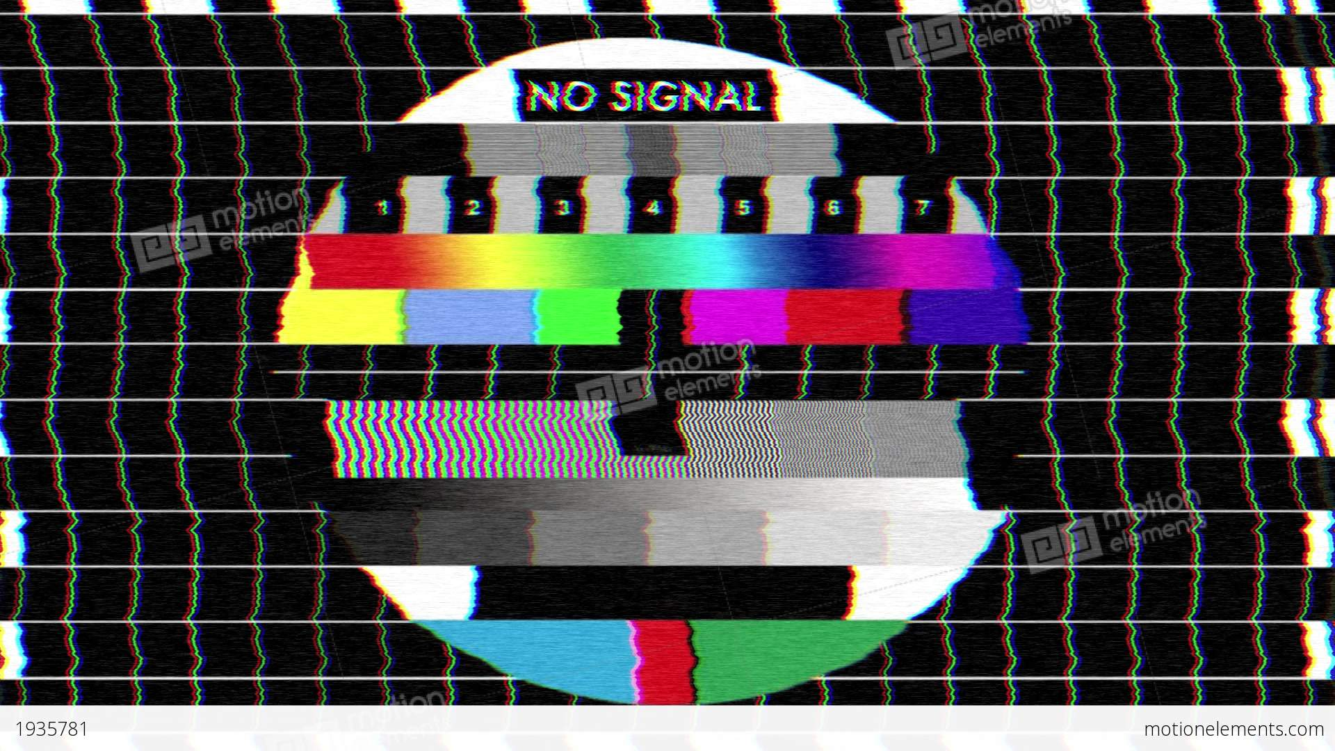 bad tv i static noise sound stock animation 1935781. Black Bedroom Furniture Sets. Home Design Ideas