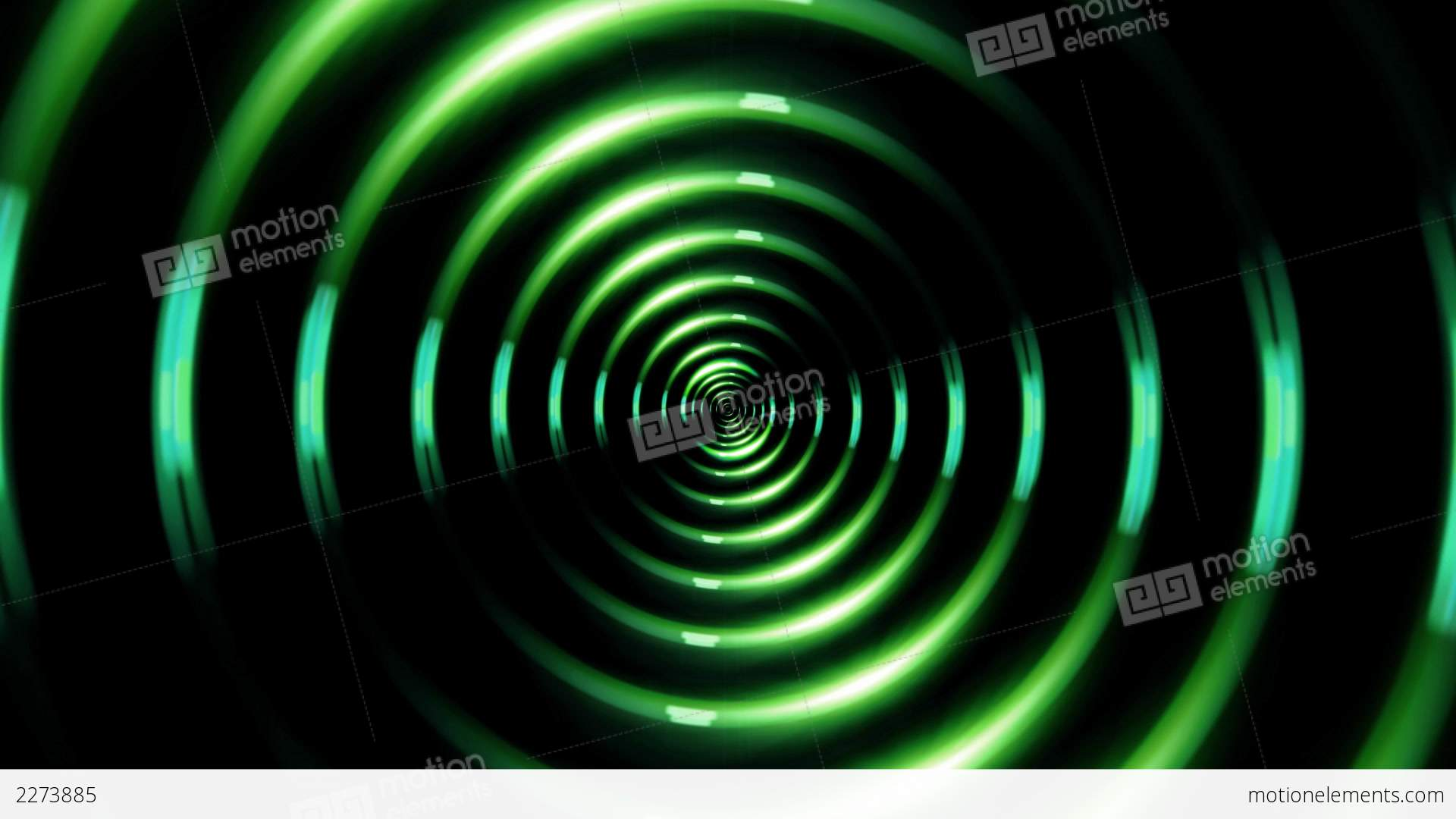 HD Ring Lens Flare Forward Green Stock Animation | 2273885