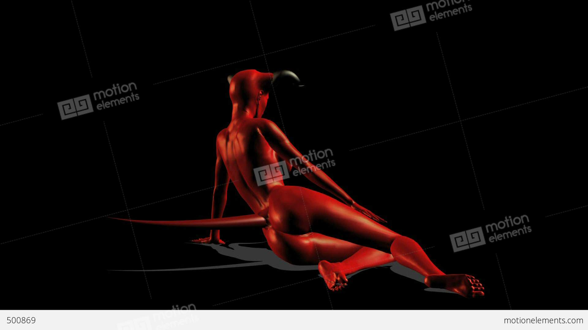 SEXY DEVIL 19 Stock Animation | 500869