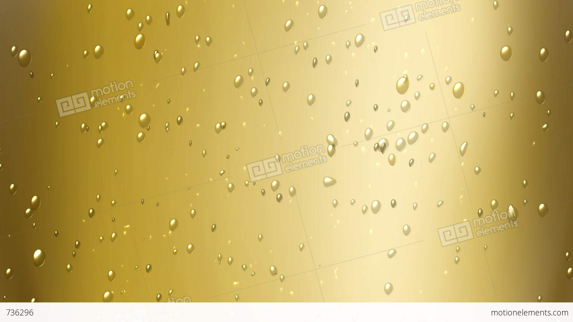 champagne bubbles stock animation