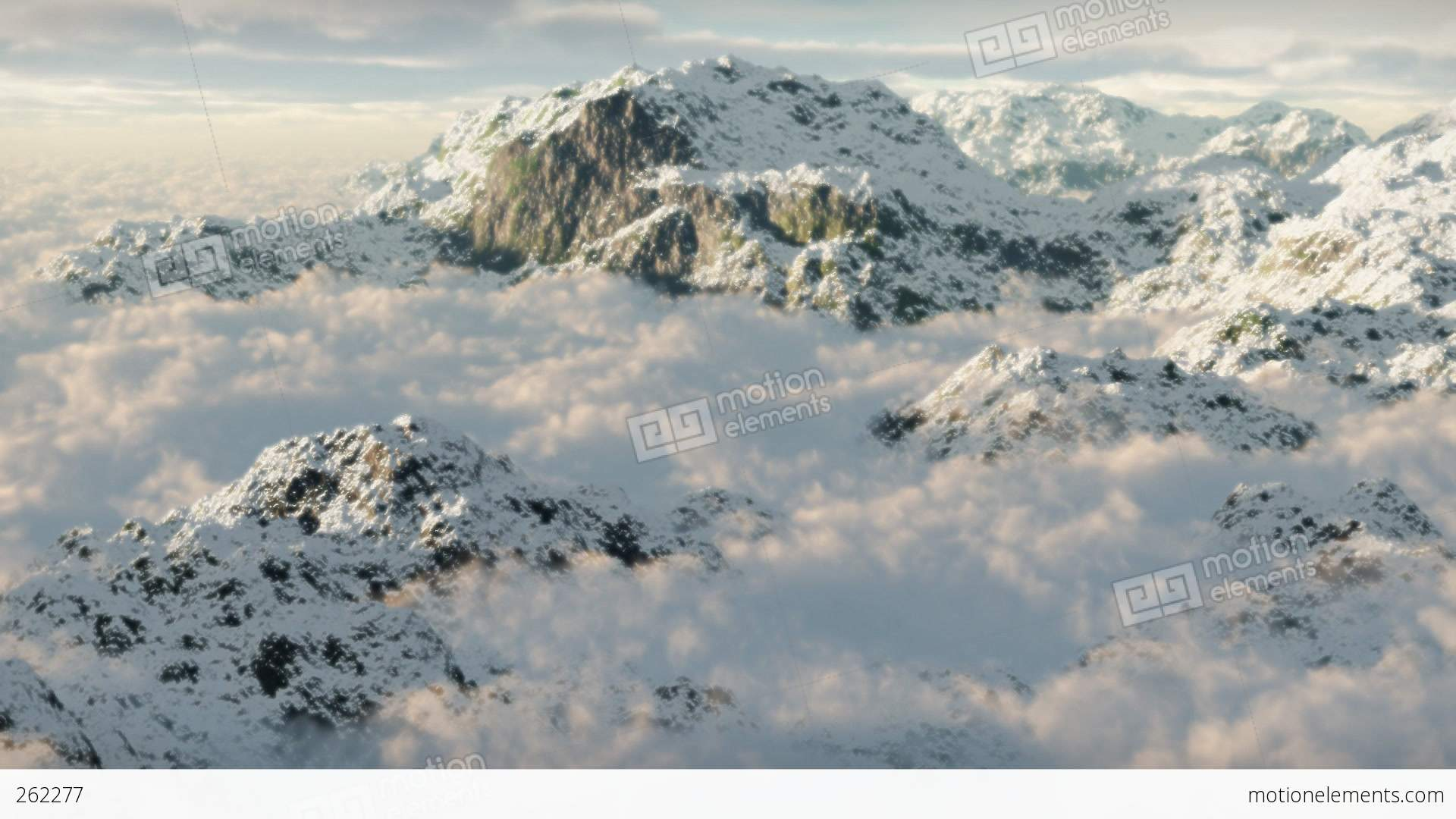 mountain snow clouds - photo #7