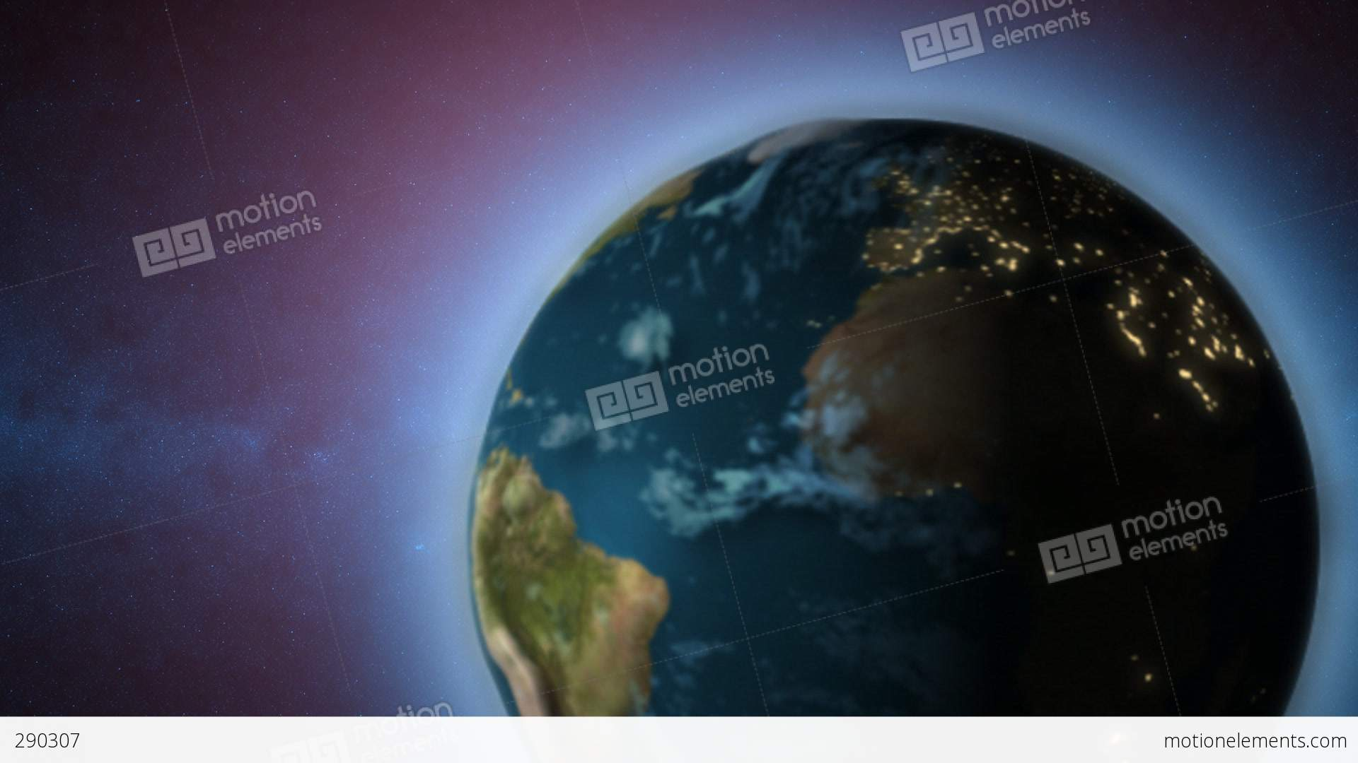 rotating earth moving around sun stock animation 290307 Spinning Earth Clip Art Spinning Globe Clip Art