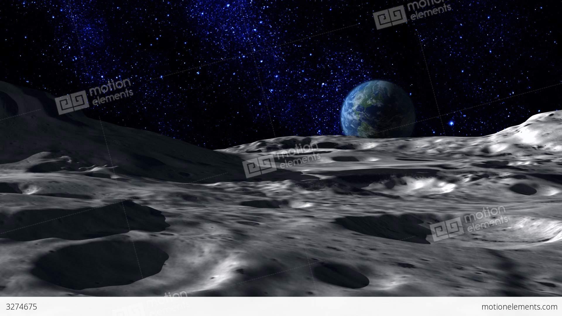 Moon Surface Stock Animation | 3274675