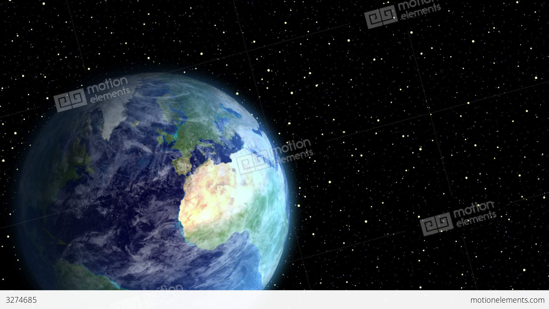 space aliens visit earth stock animation 3274685
