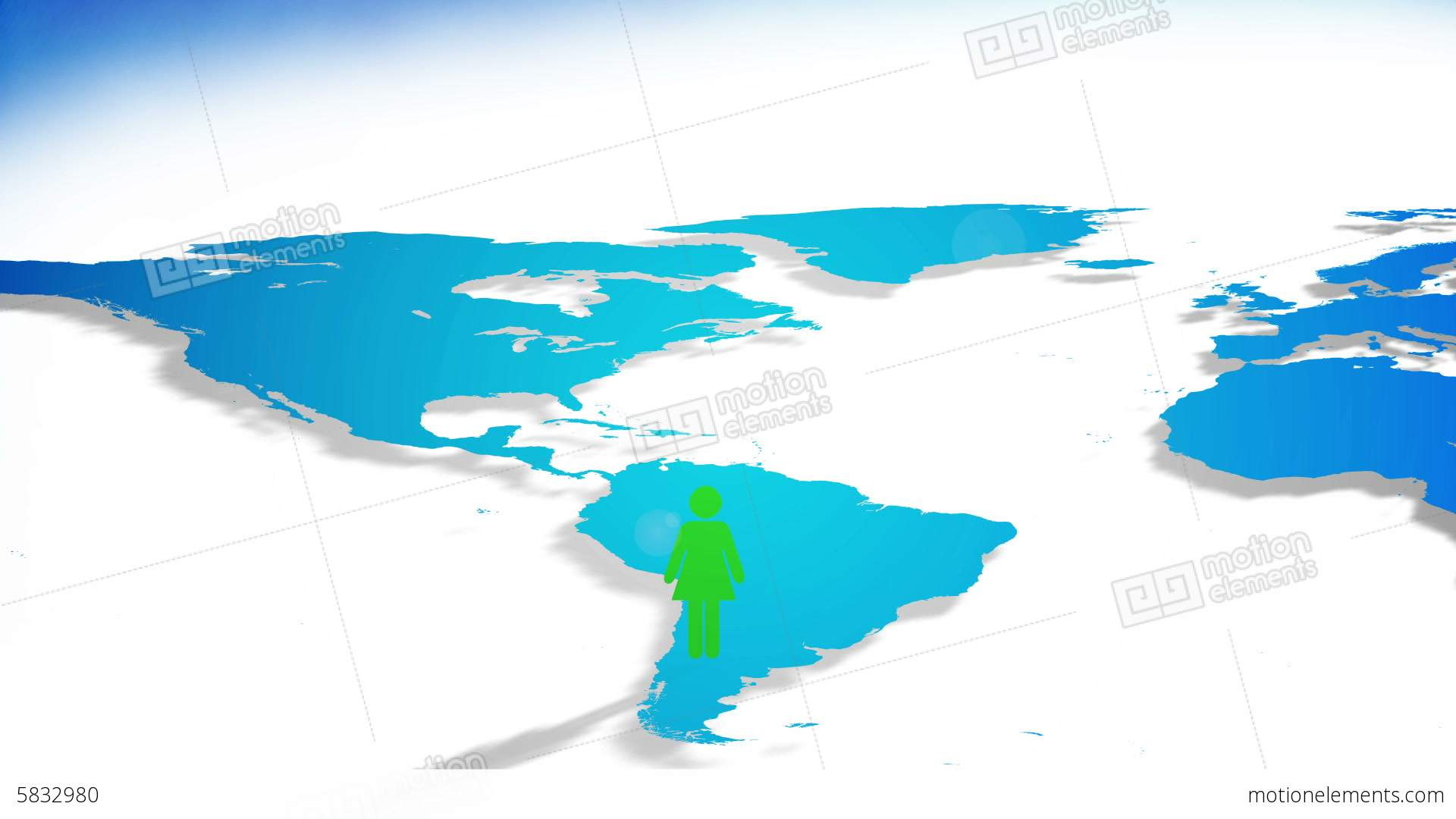 Person icons popping up on world map stock animation 5832980 person icons popping up on world map stock video footage gumiabroncs