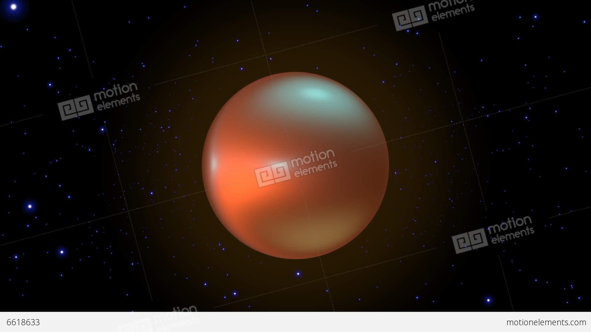 Orange Stars In Space Orange Star Exploding ...