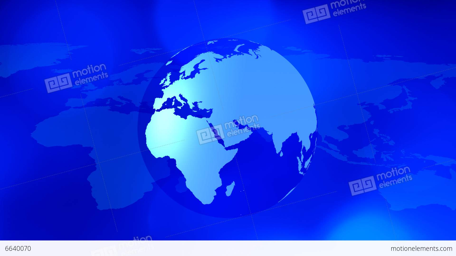 Map And Rotating World Globe Motion Background Stock Video Footage