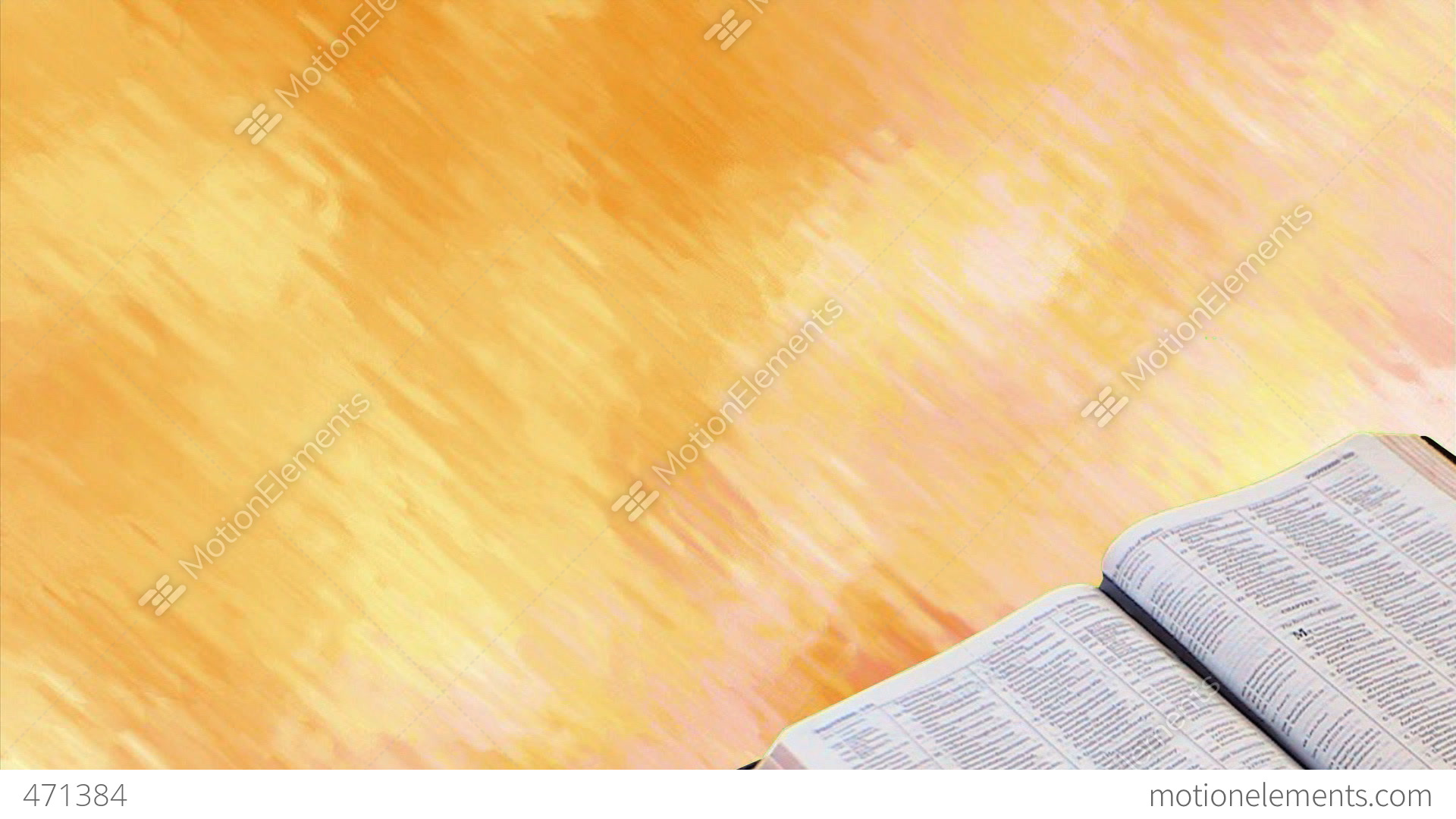 bible with motion background stock animation 471384