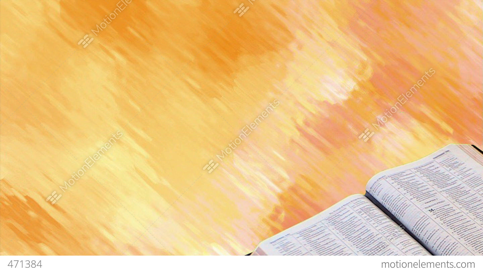 bible with motion background stock animation