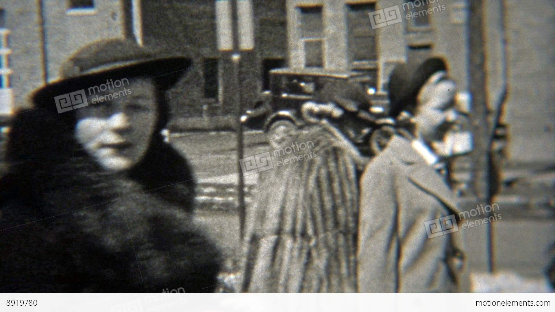1937  Women Wearing Fashion Hats Like Bollers Stock video footage ... dfb4b2fe809a