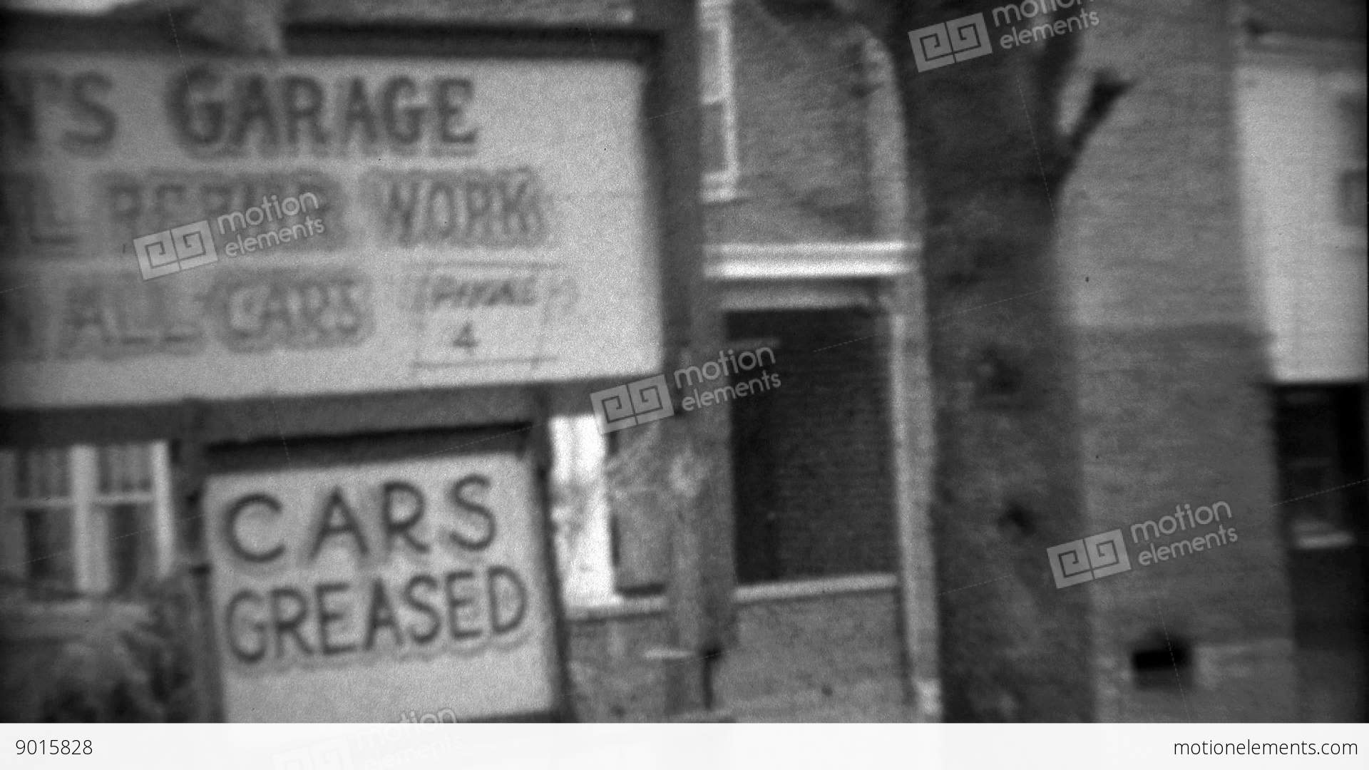 1936: Wilson\'s Garage General Repair Work On All Cars Flooded From ...