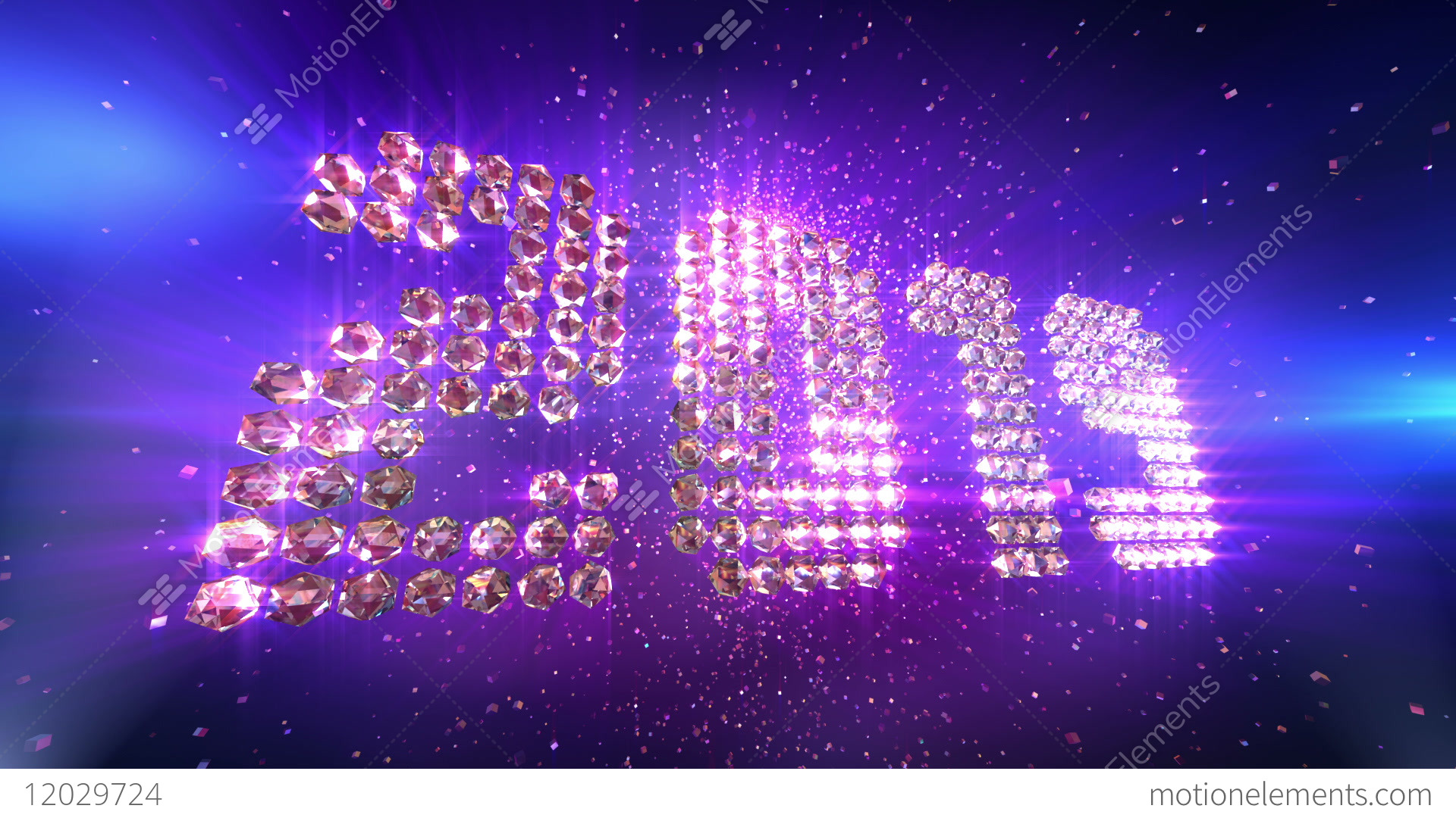New Year 2019 Animation Background Stock Animation | 12029724Animated New Year Wallpaper