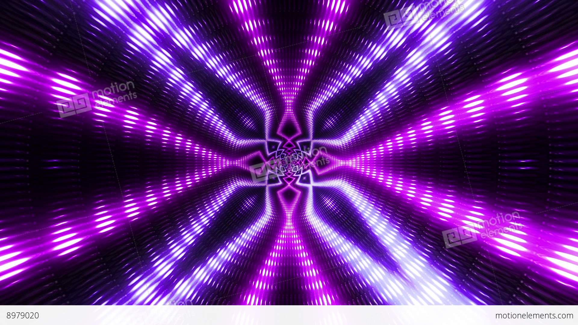 vj flashing lights wall colorful stage purple stock animation