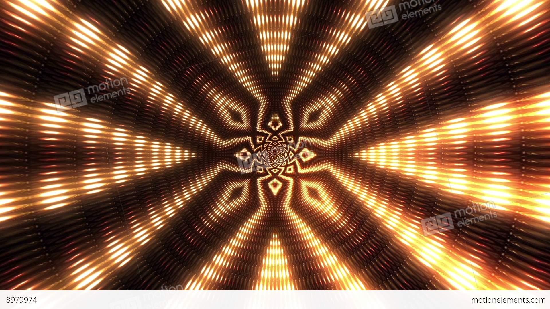 Vj Flashing Lights Wall Stage Stock Animation 8979974