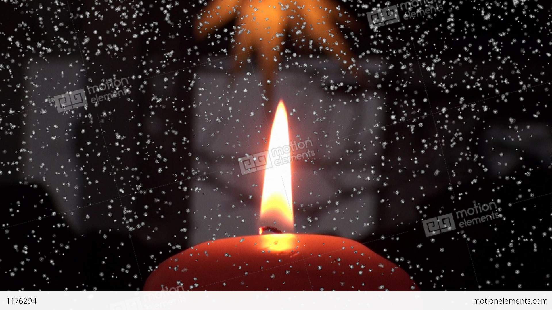 weihnachten christmas advent candle stock video