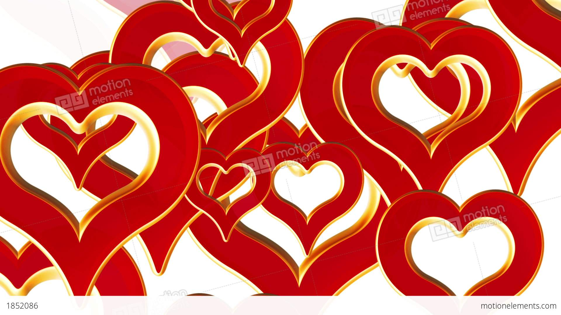 flying hearts, wedding background, valentines day, red love hearts