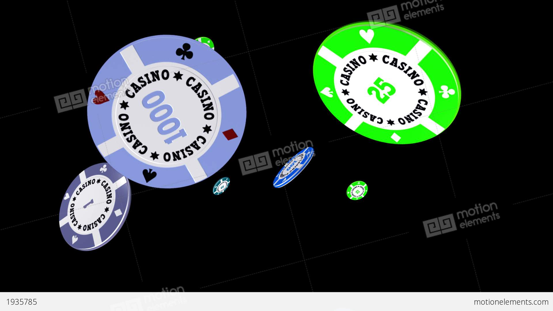 Casino chips falling loop ii stock animation 1935785 for Asino amiatino