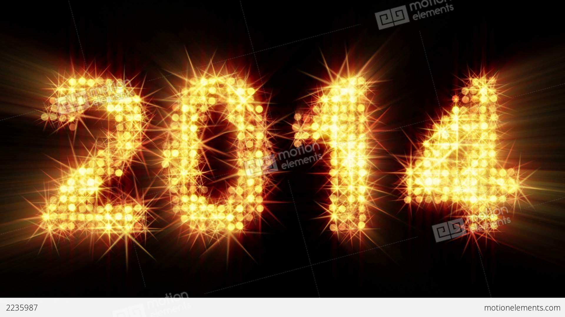 New year 2014 greeting glowing yellow particles stock animation new year 2014 greeting glowing yellow particles stock video footage kristyandbryce Gallery