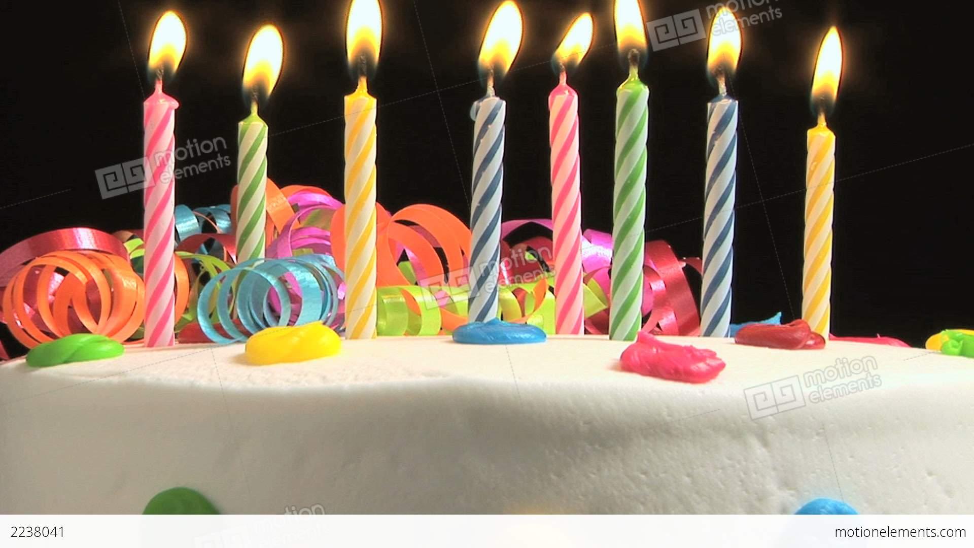Birthday Cake Stock video footage | 2238041